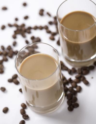 On-the-Go reduced sugar Café Latte featuring OPTIMIZER Stevia™ 4.10